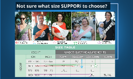 Not sure what size SUPPORi to choose?