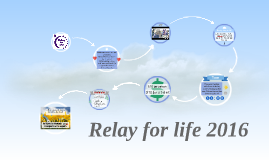 Relay for life 2016