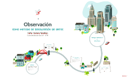 Observación como método de recolección de datos