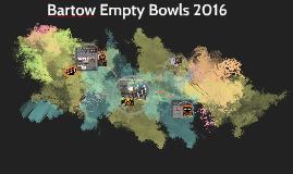 Bartow Empty Bowls 2016