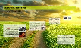 Extension #3 Landmines