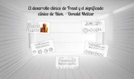 El desarrollo clínico de Freud y el significado clínico de B