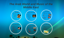The Arab World and Music of the Middle East