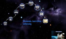 Űrutazás, kozmikus sebesség
