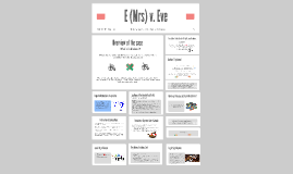 Copy of E v Eve