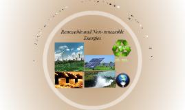 Renewable v. Non-renewable Resources