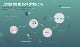 Copy of LEYES DE IDEMPOTENCIA