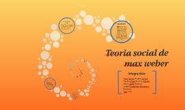 Teoria social de max weber