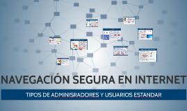 NAVEGACIÓN SEGURA EN INTERNET