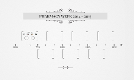 PHARMACY WEEK 2014 - 2015