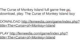The Curse of Monkey Island full game free pc, download, play
