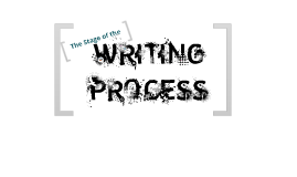 The Stage of Writing Process