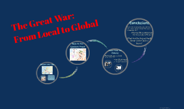 The Great War: From Local to Global