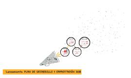 Lanzamiento: PLAN DESARROLLO 2018