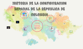 HISTORIA DE LA CONFIGURACION ESPACIAL DE LA REPUBLICA DE COL