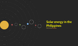 Solar energy in the Philippines
