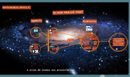 A orixe do Cosmos nos presocráticos