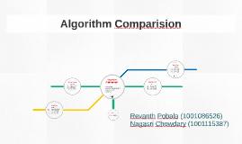 Algorithm Comparision