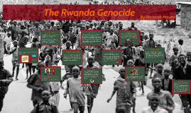 The Rwanda Genocide