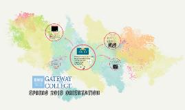 RWU SCS Gateway to College Orientation