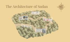 The Architecture of Sudan