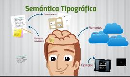 Semántica Tipográfica