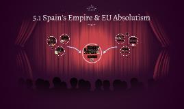 5.1 Spain's Empire & EU Absolutism