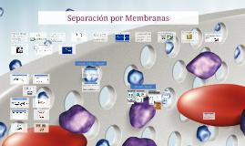 Copy of Separacion por Membranas