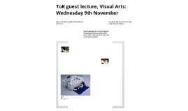 Copy of ToK Guest lecture 1