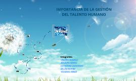 Copy of La Gestión del talento Humano en las empresas inteligentes