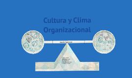 Copy of Paralelo clima y cultura organizacional