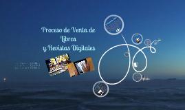 Ventas de Libros y Revistas Digitales
