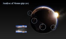 Analyse af Momo grp 205