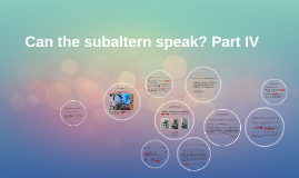 can the subaltern speak response Can the subaltern speak: reflections on the history of an idea  in these phenomenal essays, eight scholars take stock of the effects and response to spivak's work .