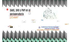 SAOS, SHO y CPAP en el perioperatorio