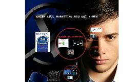 Copy of CHIẾN LƯỢC MARKETING DẦU GỘI X-MEN