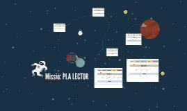 Missió: PLA LECTOR