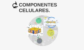 COMPONENTES CELULARES.