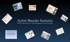 Active Shooter Scenerios