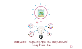 iStorytime:  Integrating Apps into Storytime and Library Cur