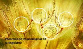 Copy of Panorama de los paradigmas en la lingüística