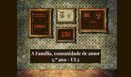 Copy of A Família, comunidade de amor