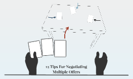 12 Tips For Negotiating Multiple Offers
