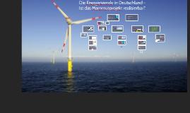 Die Energiewende in Deutschland - Ist das Mammutprojekt realisierbar?