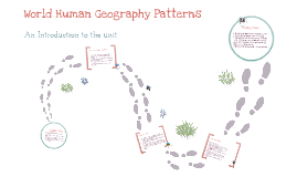 World Human Geography Patterns