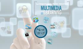 La importancia de los recursos multimedia en e-Learning