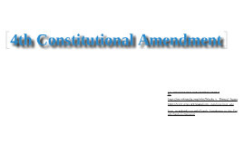 4th Constitutional Amendment