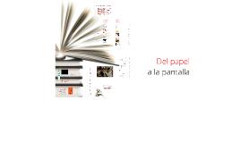 Formatos alternativos para la literatura