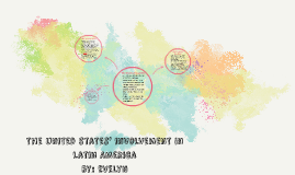 the united states' involvement in Latin America