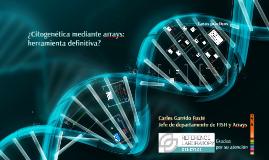 Burgos: ArrayCGH: el array genómico en el diagnóstico prenatal